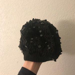 ⭐️MAKE OFFERS! Topshop sparkly sequins hat